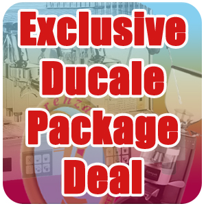 Click Here For The Fiorenzato Ducale Exclusive Package Deal